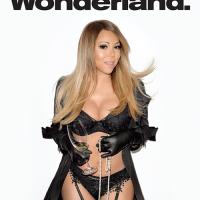 Gaya Seksi Mariah Carey di Majalah Wonderland