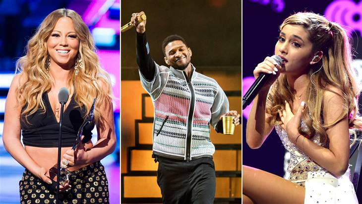 Mariah Carey, Usher and Ariana Grande are just a few of the artists that will be performing on the plaza as part of the Toyota Concert Series on TODAY.