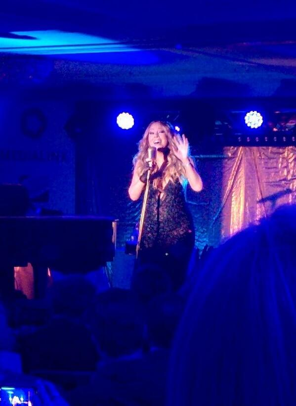 Mariah Carey Performs At MediaLink Event in Cannes 1