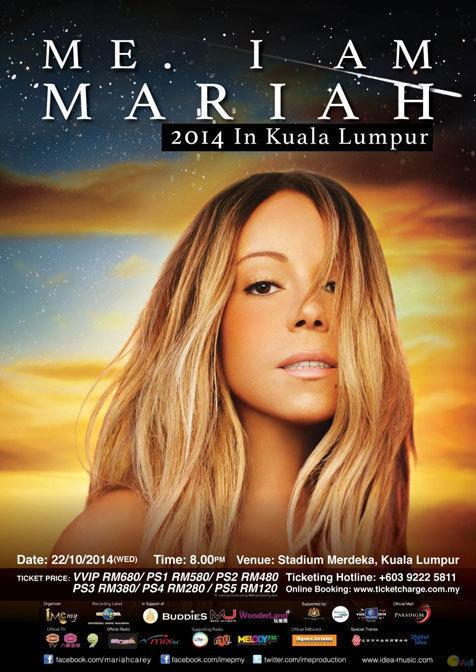 Me. I Am Mariah Malaysia 2014