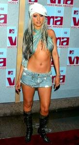 VMA 2002 Christina